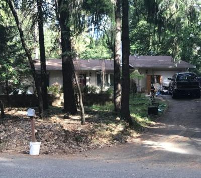 Pollock Pines Single Family Home Active Short Sale: 5546 Sierra Springs Dr