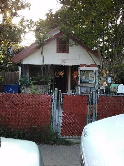 Sacramento Single Family Home For Sale: 3208 40th Street