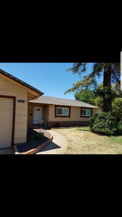 Rancho Cordova Single Family Home For Sale: 2610 Zinfandel Drive