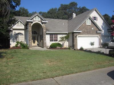 El Dorado Hills Single Family Home For Sale: 3434 Tau Nee Way