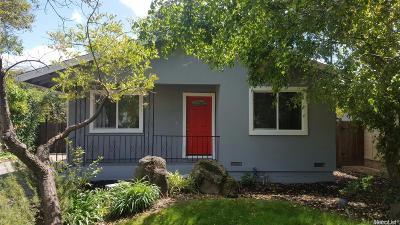 Sacramento Single Family Home For Sale: 1651 52nd Street