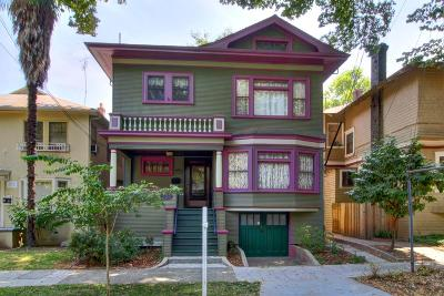 Sacramento Single Family Home For Sale: 727 22nd Street