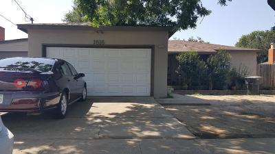 Modesto Single Family Home For Sale: 1816 Cindy