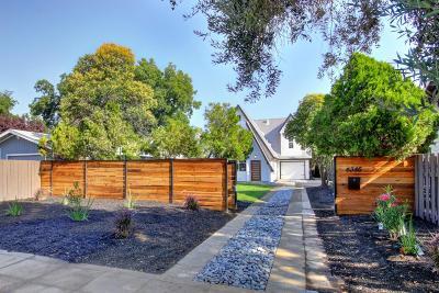 Sacramento Single Family Home For Sale: 4345 4th Avenue