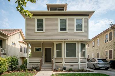 Sacramento County Multi Family Home For Sale: 1229 T Street