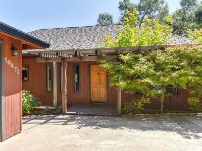 Pioneer Single Family Home For Sale: 16472 Cedar Heights