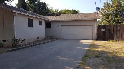 Modesto CA Single Family Home For Sale: $243,000