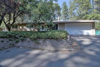 Placerville Single Family Home For Sale: 1463 Pleasant Valley Rd