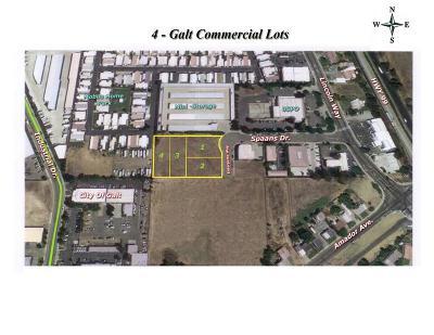 Galt Commercial Lots & Land For Sale: 705 Spaans Drive