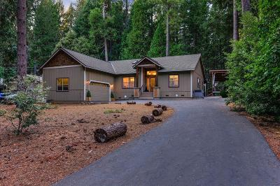 Nevada City Single Family Home For Sale: 15084 Lake Lane