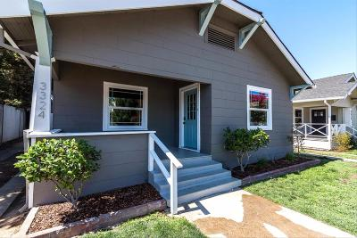 Single Family Home For Sale: 3324 S Street