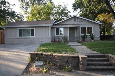Carmichael Single Family Home For Sale: 6461 Miles Lane