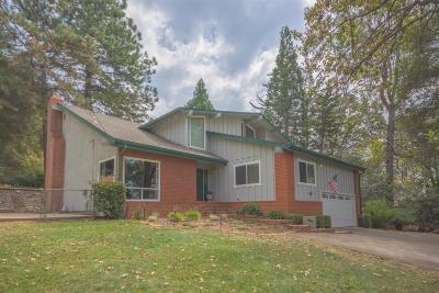 Placerville Single Family Home For Sale: 1648 Country Club Drive