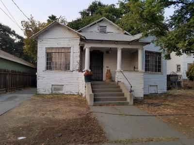 Woodland Single Family Home For Sale: 1007 Court Street