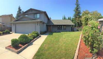 Stockton Single Family Home For Sale: 3439 Timberlane Drive