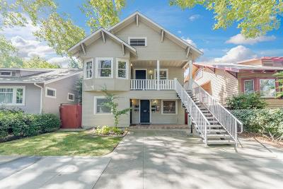 Sacramento Single Family Home For Sale: 2816 F Street