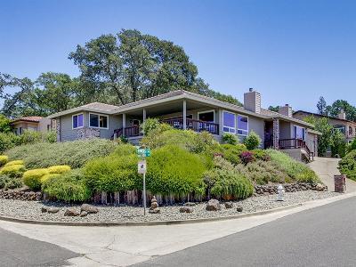 El Dorado Hills CA Single Family Home For Sale: $699,000