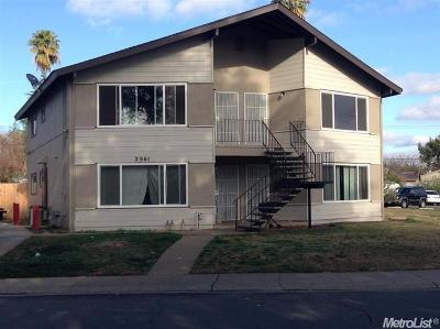 Rancho Cordova Multi Family Home For Sale: 2961 Portsmouth Drive