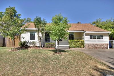 Sacramento Single Family Home For Sale: 3628 Marjorie Way