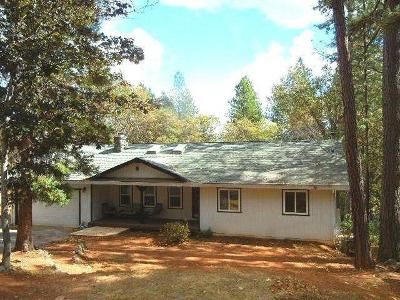 Grass Valley Single Family Home For Sale: 11609 Alta Sierra Drive