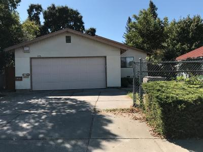 West Sacramento Single Family Home For Sale: 636 Todhunter Avenue