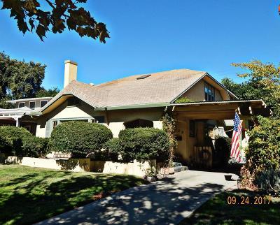 Stockton Single Family Home For Sale: 429 North Central Avenue
