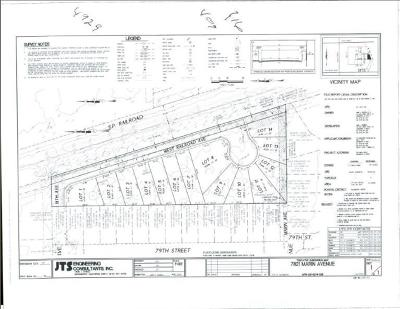 Sacramento County Residential Lots & Land For Sale: 7821 Marin Avenue
