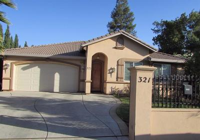 Single Family Home For Sale: 321 Haggin Avenue