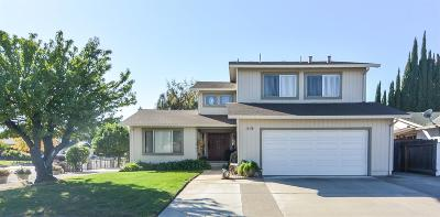 Manteca Single Family Home For Sale: 1408 Driftwood Way