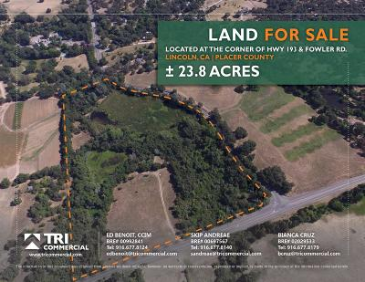 Lincoln Residential Lots & Land For Sale: Fowler Road