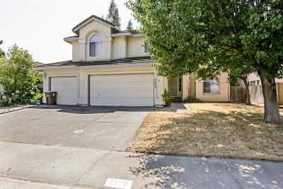 Elk Grove Single Family Home For Sale: 4608 Castle Grove Way