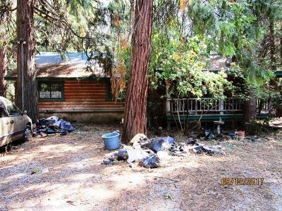 Volcano Single Family Home For Sale: 23750 Shake Ridge