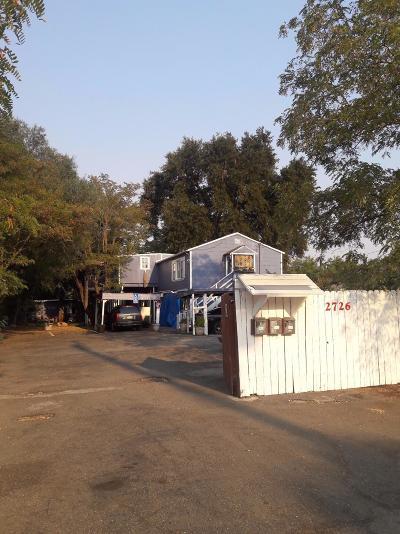 Sacramento Multi Family Home For Sale: 2726 Rio Linda Boulevard