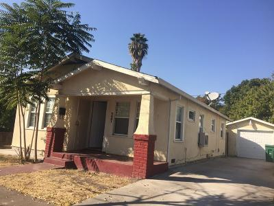 Stockton Single Family Home For Sale: 327 East Noble Street