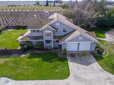Turlock Single Family Home For Sale: 6000 North Walnut