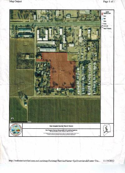 Tracy Residential Lots & Land For Sale: 24184 South Cabe Road