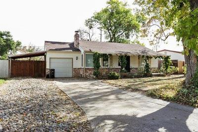 Sacramento Single Family Home For Sale: 2306 Maryal Drive