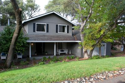 Granite Bay  Single Family Home For Sale: 7815 Hill Road