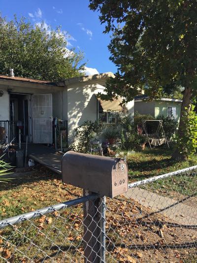 Single Family Home For Sale: 6300 Watt Avenue