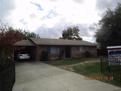 Patterson CA Single Family Home For Sale: $199,000