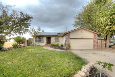 Tracy Single Family Home For Sale: 225 Mount Oso Avenue