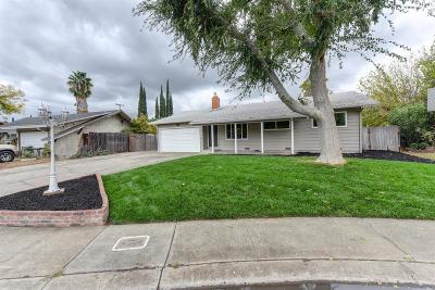 Citrus Heights Single Family Home For Sale: 6121 Quincewood