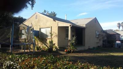Stockton Single Family Home For Sale: 1031 East Stadium Drive