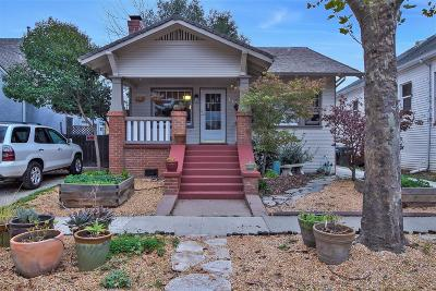 Sacramento Single Family Home For Sale: 1707 35th Street
