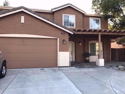 Tracy Single Family Home For Sale: 244 Lamonte