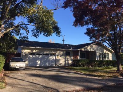 Stockton Single Family Home For Sale: 2405 Rutledge Way