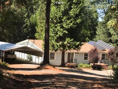 Georgetown CA Single Family Home For Sale: $320,000
