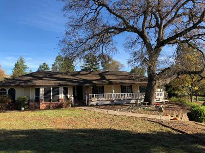 Placerville CA Single Family Home For Sale: $825,000