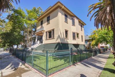Sacramento Single Family Home For Sale: 2031 P Street