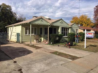 Sacramento Single Family Home For Sale: 5966 Vista Avenue